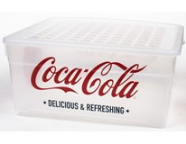 Box s víkem Coca Cola Curver 18,5L transparentní 1ks