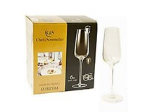 Sklenice na šampaňské Sublym 210ml 6ks