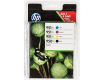 Cartridge HP 950XL black/951XL CMYK 1+4ks