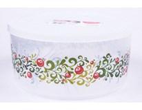 Box na pečivo Vánoce kulatý 2,5L 1ks