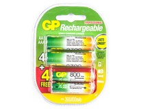 Baterie GP Recyko HR6+HR3 4+4ks akce