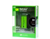 Baterie GP ReCyko 200 9V 1ks