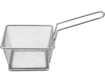 Košík servírovací/fritovací kovový 8x8x7cm 1ks