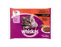 Whiskas kapsička Menu 4druhy masa pro kočky 4x100g