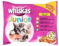 Whiskas Junior kapsička pro kočky 4x100g