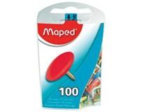 Připínáčky Maped barevné 100ks
