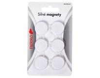 Magnety průměr 2cm černé 6ks