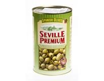 Seville Premium Olivy černé bez pecky 1x4,3kg