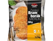 Český bramborák Merlin mraž. 1x20ks (á 60g)