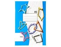 Sešit školní 564 linkovaný A5 60listů 10ks