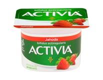 Danone Activia Jogurt jahodový chlaz. 24x120g