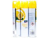 ARO Osvěžovač vzduchu citron 3x300ml