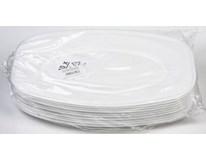 Podnos Foam 45cm bílý 10ks