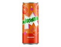Mirinda Orange 24x330ml plech