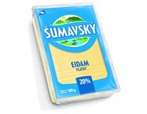 Šumavský eidam 20% plátky chlaz. 5x100g