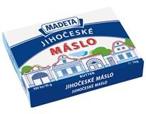 Madeta Jihočeské máslo 82% chlaz. 100x10g