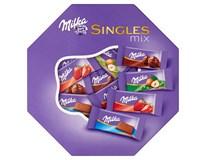 Milka Singles mix výběr mini mléčných čokolád 1x138g