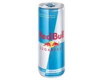 Red Bull energetický nápoj bez cukru 24x250ml