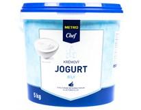 Metro Chef Jogurt bílý krémový 4% chlaz. 1x5kg