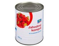 ARO Jahody kompot 6x850ml