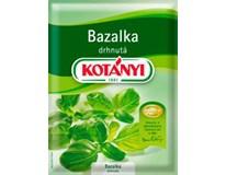 Kotányi Bazalka drhnutá 5x9g