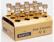 Martell V.S. mini 40% koňak 12x30ml