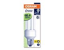 Žárovka úsporná Osram 11W E27 teplá bílá 1ks