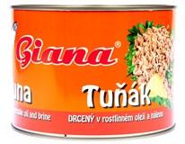 Giana Tuňák drcený v rostlinném oleji a nálevu 1x1,705kg