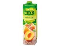 Hello Meruňka 40% nektar 12x1L TP