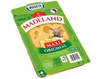 Madeland maxi sýr tvrdý plátkový chlaz. 1x250g