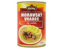 Hamé Moravský vrabec se zelím hotové jídlo 4x415g