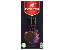 Cote D'Or Čokoláda Brut hořká 86% 2x100g