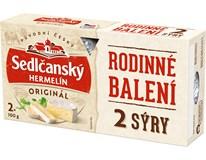 Sedlčanský Hermelín sýr duo chlaz. 1x200g (2x100g)