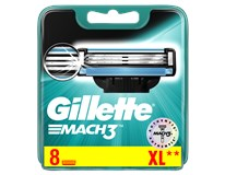 Gillette Mach3 náhradní bříty do holícího strojku 1x8ks