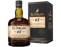 El Dorado rum 15yo 43% 6x700ml