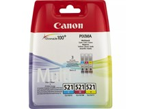 Cartridge Canon BJ CLI-521 c/m/y multipack 1ks