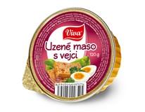 Viva maso uzené s vejci 16x120g