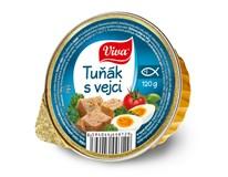 Viva tuňák s vejci 16x120g