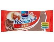 Racio Chlebíčky rýžové s polevou mléčná čokoláda 4x100g