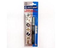 Značkovač lakový 9220 Centropen 1,5mm stříbrný 1ks