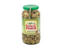 Seville Premium Olivy zelené s papričkou 1x935g