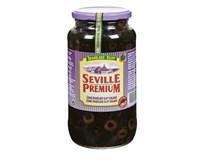Seville Premium Olivy černé krájené 1x935g