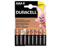 Baterie Duracell Basic 2400 AAA 8ks
