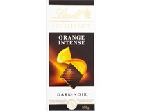 Lindt Excellence Orange Intense čokoláda 3x100g