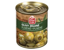 Fine Life Olivy zelené sardelová pasta 4x200g