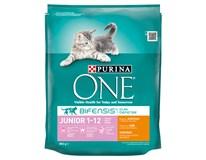 Purina One Junior kuře+rýže granule pro kočky 1x800g