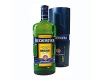 Becherovka likér 38% 6x700ml plech