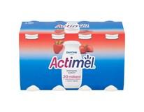 Danone Actimel jogurtové mléko jahodové chlaz. 8x100g