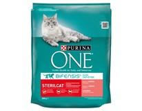 Purina One Sterilcat losos+tuňák+pšenice granule pro kočky 1x800g