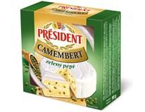 Président Camembert sýr s pepřem chlaz. 5x90g
